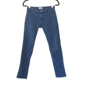 ba&sh Womens Csally Skinny Dark Wash Jeans